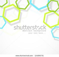 Background with hexagons by Hluboki Dzianis, via ShutterStock