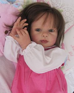 Our wooden dolls residential home series has a choice of different varieties and sizes, our wood barbie dolls residences are fantastically detailed with illustrations thoroughly. Reborn Toddler Girl, Reborn Baby Dolls, Silicone Baby Dolls, Barbie Gowns, Child Doll, Wooden Dolls, Custom Dolls, Doll Face, Beautiful Dolls