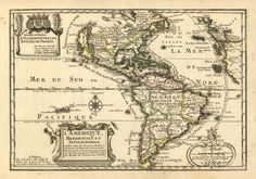 De Fer Nicolas edit. America - 1705