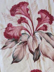 Vintage 40 50s Tropical Floral Barkcloth Pair of Draperies Drapes | eBay Vintageblessings