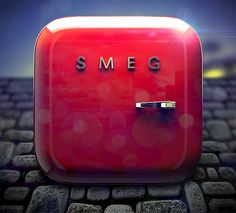 Smeg iOS icon by Alex Bender, via Behance
