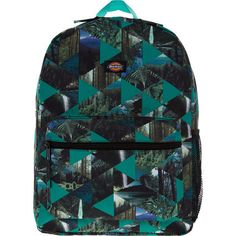 Buy Green Triangle Patterned Backpack at TK Maxx Triangle Pattern, Learning Toys, Tk Maxx, Vera Bradley Backpack, Kids Toys, Student, Backpacks, Turquoise, Unisex
