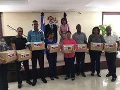 Taiwán dona canastas y alimentos a la Primera Dama para necesitados