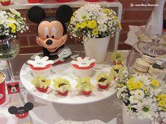 Lima Limão - festas com charme: Batizado do Gabriel: Hey Mickey!