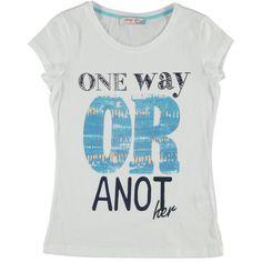T-shirt stampa glitterata donna - € 17,90 | Nico.it - #fashionista #nicoit #nicoabbigliamentocalzature #fashion #nuoviarrivi #newarrivals #newcollection #nuovacollezione #bestoftheday #outfit #outfitoftheday #spring #springsummer #summer #ss15 #2015