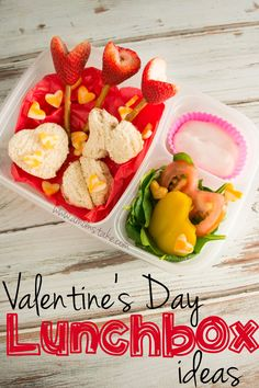 Creative #Bento Lunchbox ideas for #ValentinesDay!