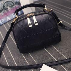 Brands Double Zipper Women Handbags Fashion Ladies Messenger Bags Women Candy Color Crossbody Bag Bolsa Feminina
