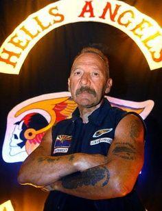 Godfather of the Biker World - Sonny Barger, Hells Angels. Sonny Barger, Biker Clubs, Motorcycle Clubs, Outlaws Motorcycle Club, Hells Angels, Bike Gang, Rocker, Biker Girl, My Guy