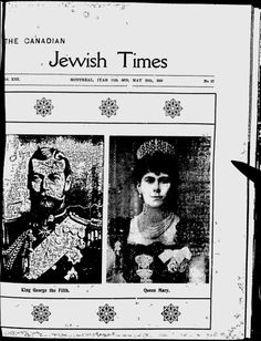 The Canadian Jewish Times - Google News Archive Search