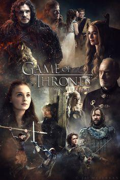 Game of Thrones Saison 4 affiche de caractère.