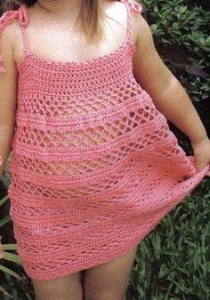 Artesanato diversão e prazer: Vestidinhos de croche