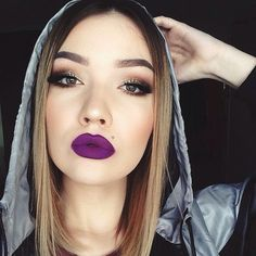 I've always loved a matte lip color,.But, your lips must be well hydrated, to pull this look off.