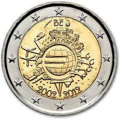 Belgio decennale euro