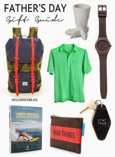 2014 Father's Day Gift Guide | Hello Jack