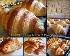 Bread Recipes, Cooking Recipes, Croissants, Bread Baking, Buffet, Food And Drink, Treats, Bar, Breakfast