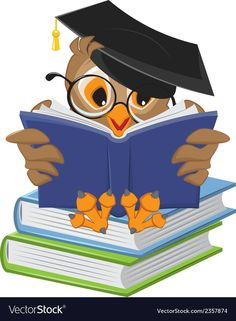 Owl Cartoon - Owl with School Books PNG Clipart Picture Owl Clip Art, Owl Art, Owl Classroom, Classroom Decor, Education Clipart, School Clipart, Owl Pictures, Wise Owl, Books To Read