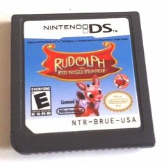 Nintendo DS Dsi Ds 3DS Game ~ RUDLOPH THE RED NOSED REINDEER ~ 130 Mini-Games