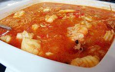 Le riz avec la lotte (tamboril) doit être servi avec un peu de sauce, est un vrai délice. Apprenez à faire de ce plat de façon simples et appétissant!