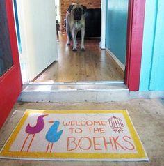 Cute and Crafty DIY Doormat Inspiration!