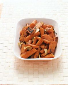 Grilled Carrots with Ginger Recipe