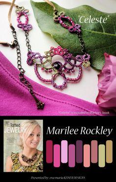 Colorway: Marilee Rockley BLOG: http://yarnplayertats.blogspot.com/ Esty Shop: http://www.etsy.com/people/yarnplayer?ref=ls_profile
