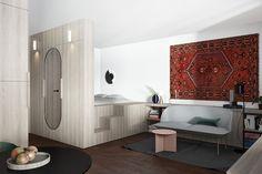 Minimalist and beautiful apartment design...   Visit : roohome.com   #apartment #decoration #awesome #great #gorgeous #fabulous #uniquedesign #simpledesign #design #apartmentdesign