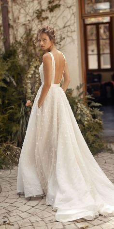 30 Simple Wedding Dresses For Elegant Brides ❤ simple wedding dresses backles., 30 Simple Wedding Dresses For Elegant Brides ❤ simple wedding dresses backless bohemian country lihi hod Source by wed. Top Wedding Dresses, Wedding Dress Trends, Bridal Dresses, Bridesmaid Dresses, Wedding Ideas, Modest Wedding, Elegant Dresses For Wedding, Sleeveless Wedding Dresses, Couture Wedding Dresses