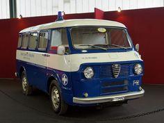 Alfa Romeo Ambulanza by Maurizio Boi, Vintage Trucks, Old Trucks, Maserati, Ferrari, Alfa Alfa, Volkswagen, Mini Bus, Cool Vans, Alfa Romeo Cars