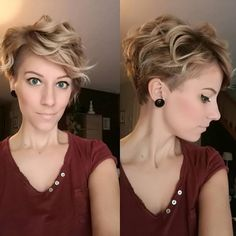 Pixie Haircuts For Wavy Hair http://scorpioscowl.tumblr.com/post/157435546955/more #PixieHairstylesCurly