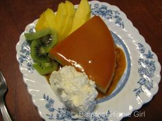 Flan  www.barefoothippiegirl.com/2013/03/currently.html