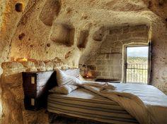 Sassi di Matera-Matera, Italy.   Cave dwellings!