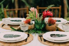 What do you get when you have a group of gals (one of them a bride), a greenhouse, & a super cool island theme? This tropical bridal shower in a greenhouse! Tropical Bridal Showers, Tropical Party, Tropical Weddings, Wedding Themes, Our Wedding, Wedding Set, Purple Wedding, Lace Wedding, Wedding Ideas