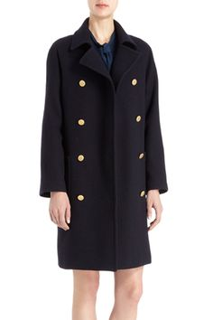 12 Coat Trends To Warm Up To #refinery29 Captain coats