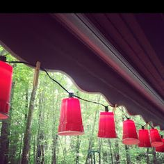 Transform those leftover Solo Cups into party lanterns