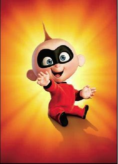 Jack Jack ~ The Incredibles (2004). I wanna name my kid Jack Jack. Eddie really like Dashal.