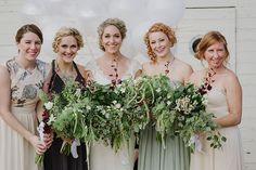 2015 Wedding Trends | wild flowers | earth tones