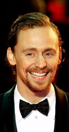 Lust - pure lust. Tom Hiddleston. War Horse UK film premiere.