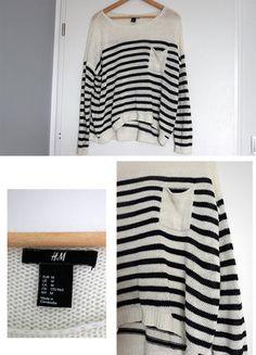 Kup mój przedmiot na #vintedpl http://www.vinted.pl/damska-odziez/swetry-z-dzianiny/17302028-sweter-w-paski-hm