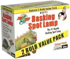 ZooMed Basking Spot Value 2 Pack 75 Watts