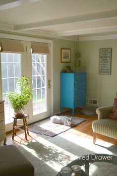 on pinterest green family rooms thift store and benjamin moore