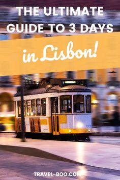 The best 3 days Lisbon Itinerary - Make the best of your Lisbon Travel plans! Don't miss this epic Lisbon Travel Guide to help you plan the perfect Itinerary for visiting Lisbon Portugal! #lisbon #lisbontravel #lisbonportugal #lisbonitinerary Portugal Vacation, Portugal Travel Guide, Europe Travel Guide, Spain Travel, Travel Guides, European Travel Tips, European Vacation, Spain And Portugal, Lisbon Portugal
