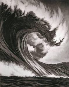 """Robert Longo (geb. 1953): Ohne Titel (Drachenkopf), 2005, aus der Serie """"Monster"""""""