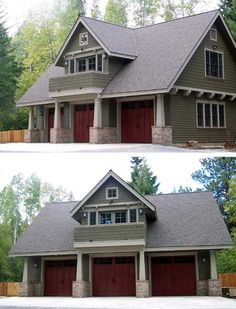 Garage Cottage - 69080AM | Carriage, Craftsman, Northwest, Photo Gallery, 2nd Floor Master Suite, CAD Available, PDF | Architectural Designs
