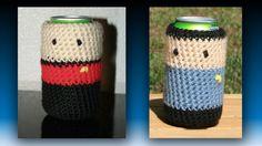 Make It Soda, Number One: Star Trek Crochet Cozies