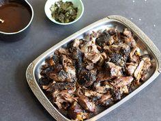 Roast lamb with toasted spice rub