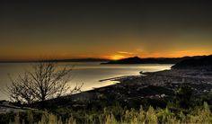 Vista da Santa Giulia di Lavagna su Lavagna, Chiavari, Santa Margherita, Portofino - Golfo del Tigullio - Genoa - Italy