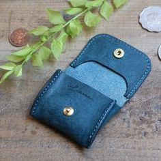 Tiny Coin Case / BLUE GREEN