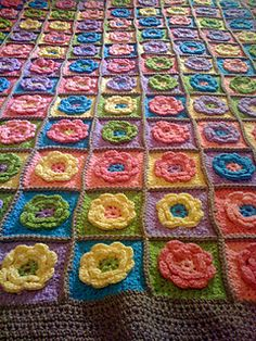 I discovered the wonder of crochet while finishing my first knitting project (a kids poncho). I decided to try to crochet a few flowers as an embellishment. Now, I am addicted to both crochet and f...