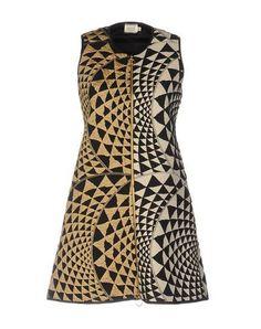 FAUSTO PUGLISI Short dress. #faustopuglisi #cloth #dress #top #skirt #pant #coat #jacket #jecket #beachwear #