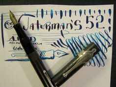 Waterman 52 Very Flexy Fountain Pen vtg 14k Gold Ideal Nib BCHR Flex  #Waterman